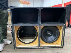 Turbo 15inch Subwoofer Box for Sale in The Bronx, NY