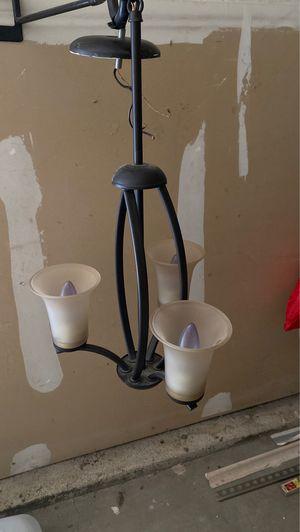 3 light Chandelier for Sale in Bellevue, WA