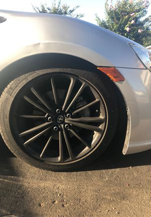 Frs/brz/g86 stock mate black rims and tires for Sale in Whittier, CA