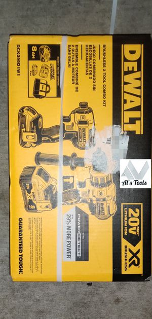 DeWalt direct power drill set with 8.0 battery brand new for Sale in Paramount, CA