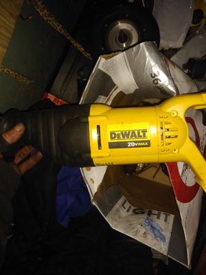 DeWalt 20 volt Sawzall and hammerdrill combo w/ battery for Sale in Seattle, WA