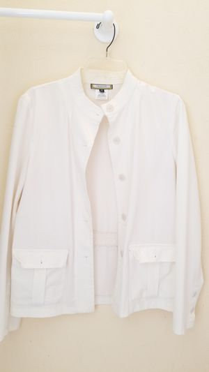 Ladies Off-white Jacket for Sale in Garland, TX