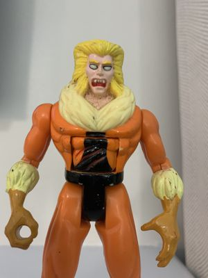 """1992 Sabretooth Victor Creed 5"""" Toy Biz Action Figure X-Men Marvel Comics for Sale in Fayetteville, NC"""