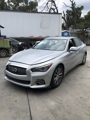 Parting Out! 2014 Infiniti Q50 for parts! for Sale in Rialto, CA