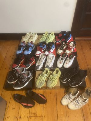 Jordan's and yeezy for sale for Sale in Newton, MA