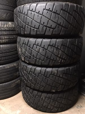 GENERAL RED LETTERS TIRES 35x12.50R18 70-80% tread (4) for Sale in San Diego, CA