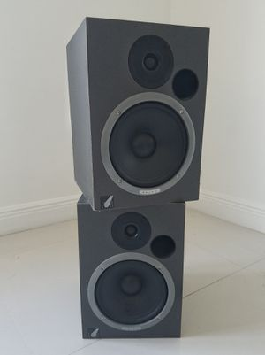 80/80 Studio Monitors with Black Stands for Sale in Miramar, FL