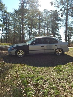 1997 Honda Civic.. The car has a 2000 boosted B16A type R engine with a 5 speed hydro LSD transmission imported from Japan only has 62,000 miles. for Sale in Gordon, GA