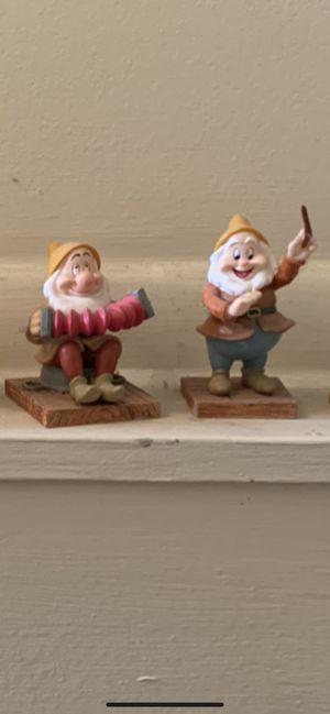 Disney's 65th ANNIV. COLLECT: Snow White 6 Dwarfs w/Bambi -$25 OBO for Sale in Saint CLR SHORES, MI