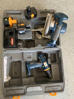 Ryobi drill and saw combo for Sale in Boca Raton, FL