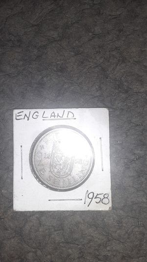 1958 England one Schilling for Sale in Hamlin, ME