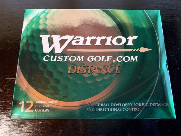 12 golf balls