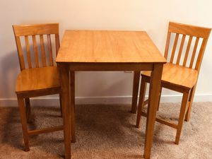 Counter-height table and chairs for Sale in Silver Spring, MD