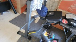 Exercise weight lifting bench set 100lbs for Sale in Gaithersburg, MD