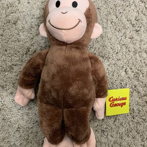 Curious George Plush Stuffed Toy Monkey for Sale in Colorado Springs, CO