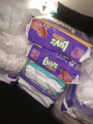 Newborn pampers for Sale in San Antonio, TX