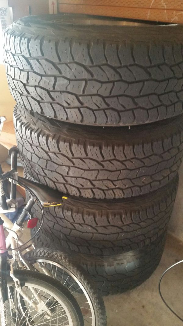Tires off 03 f250, will take trade for hand guns, make an offer
