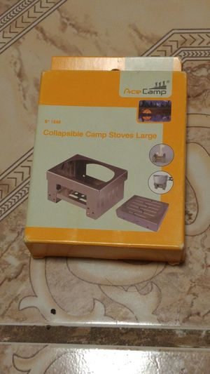 Used, Camping Stove, Ultralight Foldable Backpacking Pocket Stove for Sale for sale  Pomona, CA