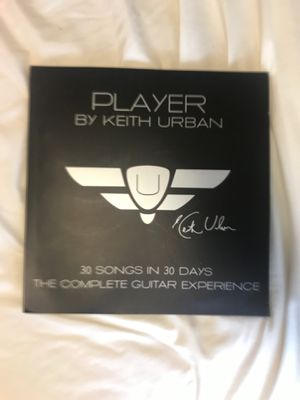 """Guitar lessons ~ DVD """"PLAYER by Keith Urban"""" 30 songs in 30 days for Sale in Winter Springs, FL"""