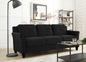 Black couch for Sale in Washington, DC
