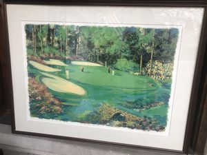 """""""Amen Corner at Augusta"""" by Steve Bloom for Sale in Glenview, IL"""
