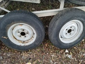 "2 Tires 13"" for trailers $100, 5 lug. for Sale in San Antonio, TX"