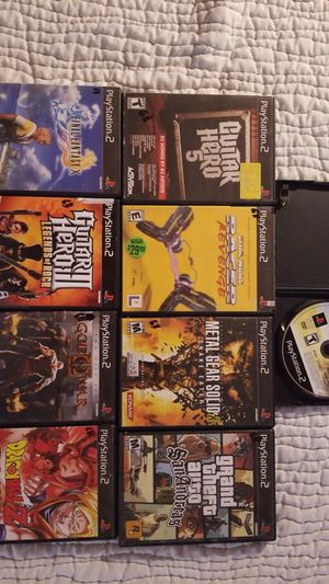 Playstation 2- PS2 Video Games sony for Sale in Washington, MD
