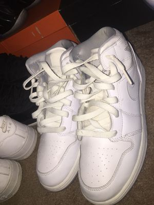 Air jordan 1 all white for Sale in Millville, NJ