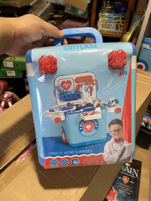 Kids suitcase carrier toy new $15 each mini box for Sale in Colton, CA