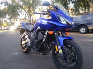 2007 Yamaha FZ6 clean title in hand tags 2021 for Sale in Garden Grove, CA