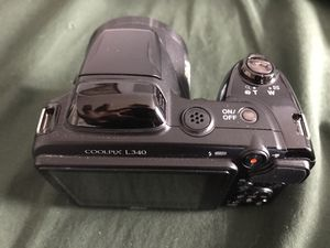 Nikon Coolpix L340 Digital Camera with Optical Zoom - This is in great condition, but does not include the accessories. Here are feature details: 28x for Sale in Raleigh, NC