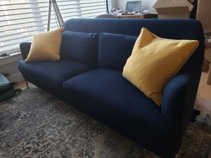 Navy Blue Couch for Sale in Washington, DC