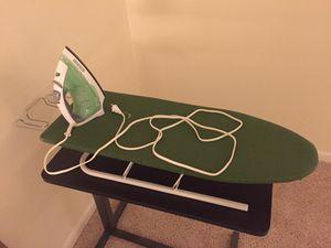 Iron + iron board for Sale in Washington, DC