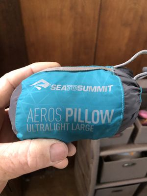 Sea to summit Aeros pillow for Sale in Phoenix, AZ