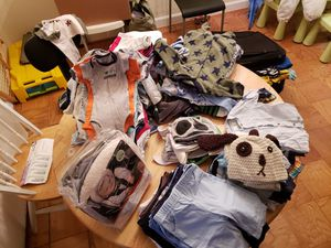 Nb to 3 months baby boy clothes for Sale in Alexandria, VA