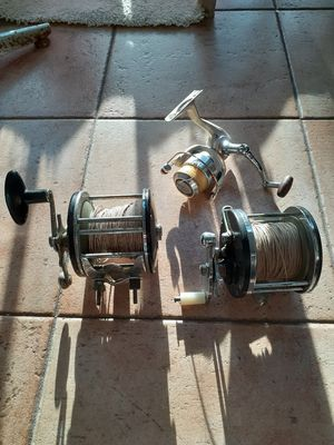fishing reels all 40 for Sale in Fort Lauderdale, FL