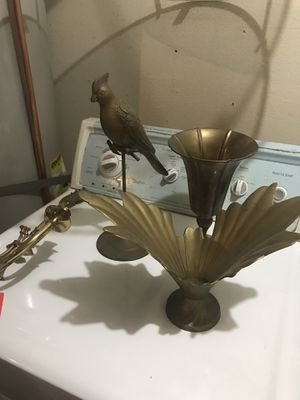 Each $20 - brass decor vintage Art Deco for Sale in Alhambra, CA