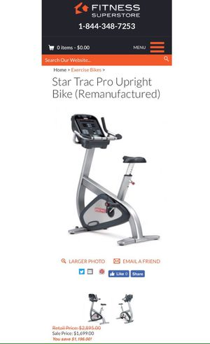 Star Trac Pro Bike for Sale in Westminster, CA