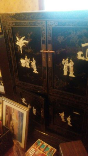 Antique Asian Cabinet for Sale in Camp Springs, MD