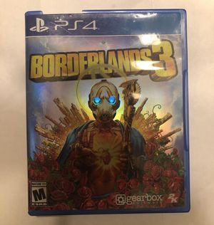 Boarderlands 3 ps4 for Sale in Albuquerque, NM