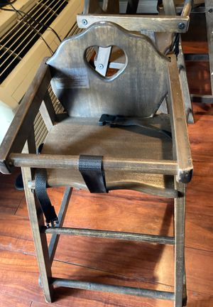 Wooden high chairs for Sale in Los Angeles, CA