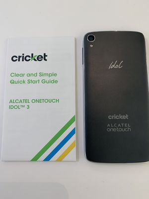 Cricket Alcatel One touch Idol3 for Sale in Raleigh, NC