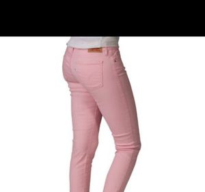 Levi's pink denim pants boot cut jeans size 4 for Sale in Clermont, FL