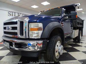 2008 Ford F-450 SD 4x4 Diesel Mason Dump Truck for Sale in Paterson, NJ