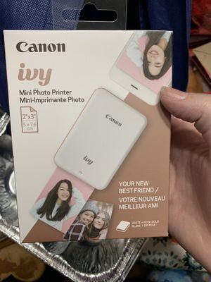 Canon ivy mini printer for Sale in Redlands, CA