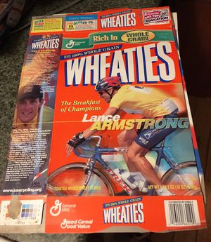 1999 Wheaties box lance Armstrong for Sale in Oroville, CA