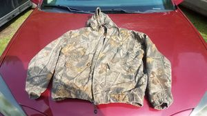 Whitewater Insulated Camo hooded Jacket for Sale in Williamsburg, MI