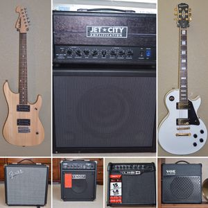 Selling An Entire Guitar Rig - Guitars, Guitar Amps, and Bass Amps! for Sale in Virginia Beach, VA