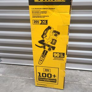 Dewalt 20v XR Chainsaw Tool-Only for Sale in Fort Lauderdale, FL