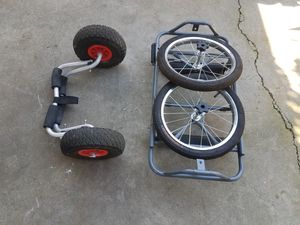 2 kayak cart for sale for Sale in Sacramento, CA